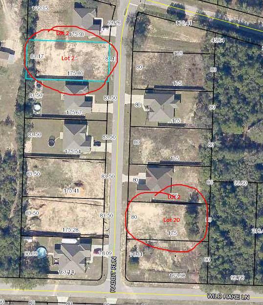 Lot 2 Rabbit Run, Crestview, FL 32539 (MLS #831545) :: ENGEL & VÖLKERS