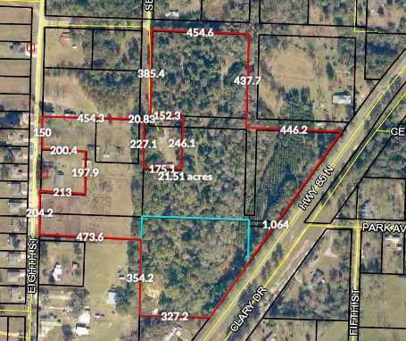 20AC N Highway 85 North, Laurel Hill, FL 32567 (MLS #832297) :: Classic Luxury Real Estate, LLC