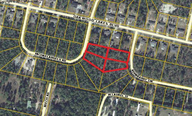 4 lots Michaelangelo Road, Defuniak Springs, FL 32433 (MLS #834797) :: Linda Miller Real Estate