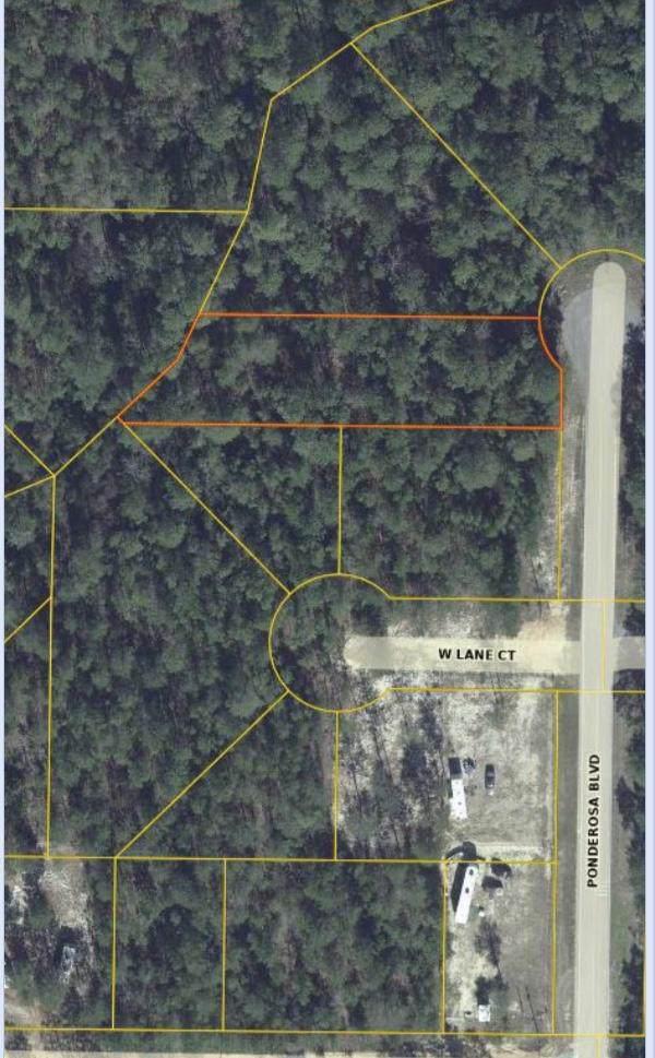 Lot 1/93 Ponderosa Boulevard, Defuniak Springs, FL 32433 (MLS #835703) :: Scenic Sotheby's International Realty