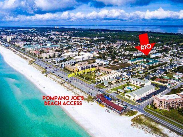 257 Driftwood Road Unit 10, Miramar Beach, FL 32550 (MLS #851692) :: Back Stage Realty