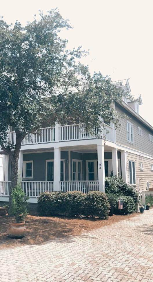 123 W Bartons Way, Santa Rosa Beach, FL 32459 (MLS #863799) :: Better Homes & Gardens Real Estate Emerald Coast