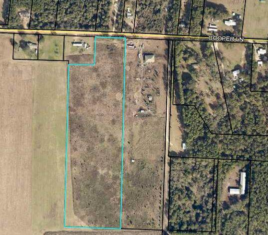 15.8 AC Cooper Lane, Holt, FL 32564 (MLS #871822) :: Better Homes & Gardens Real Estate Emerald Coast