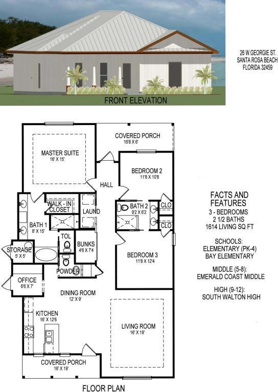 Lot 26 Georgie Street, Point Washington, FL 32459 (MLS #784354) :: The Premier Property Group