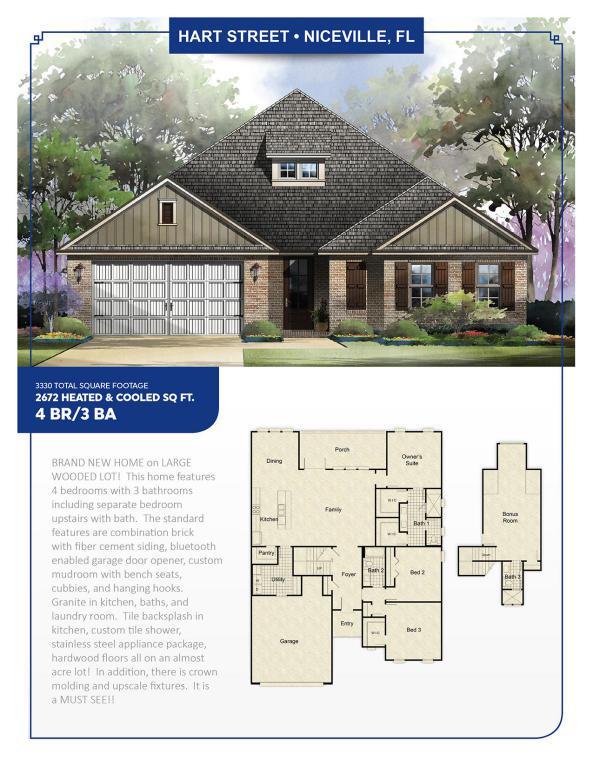 205 Hart Street, Niceville, FL 32578 (MLS #787222) :: Scenic Sotheby's International Realty