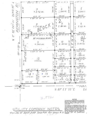 L17,18 Hanson Road, Delta Junction, AK 99737 (MLS #134216) :: Madden Real Estate