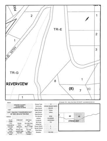 47 MILE Steese Highway, Fairbanks, AK 99712 (MLS #137738) :: Madden Real Estate