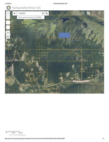 NHN Nine Mile Hill Road, Fairbanks, AK 99712 (MLS #139171) :: Madden Real Estate