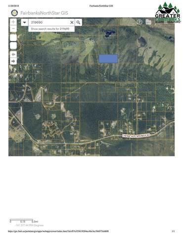 NHN Nine Mile Hill Road, Fairbanks, AK 99712 (MLS #142702) :: Powered By Lymburner Realty
