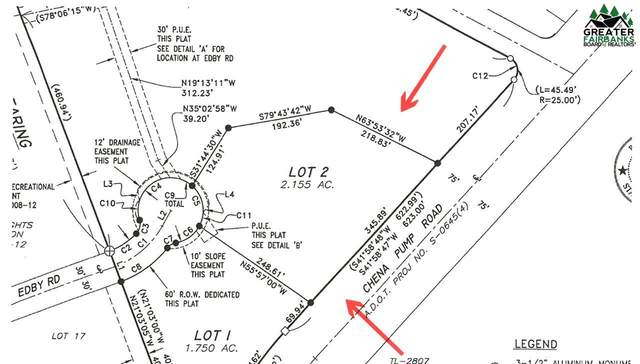 Lot 2 Chena Pump Road, Fairbanks, AK 99709 (MLS #145328) :: Powered By Lymburner Realty