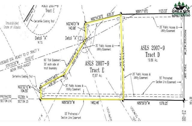 NHN Dalton Highway, Livengood, AK 99790 (MLS #145466) :: Powered By Lymburner Realty