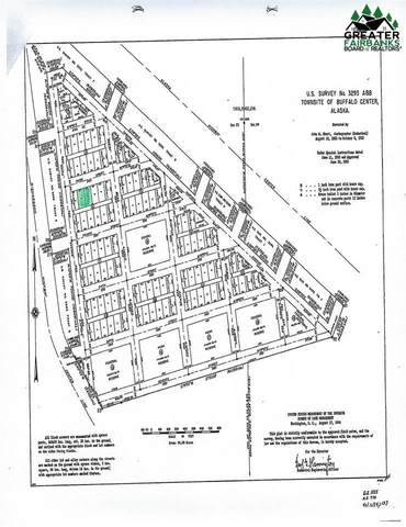 L12 B6 4TH STREET, Delta Junction, AK 99737 (MLS #145817) :: RE/MAX Associates of Fairbanks