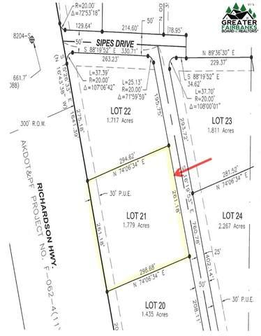 Lot 21 Sipes Dr, Salcha, AK 99714 (MLS #145976) :: RE/MAX Associates of Fairbanks