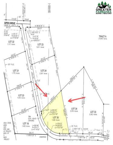 Lot 35 Sipes Dr, Salcha, AK 99714 (MLS #145981) :: Powered By Lymburner Realty