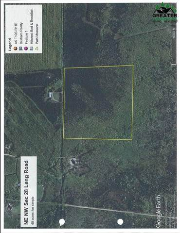 NE NW Sec 28 Leng Road, Delta Junction, AK 99737 (MLS #146084) :: Powered By Lymburner Realty