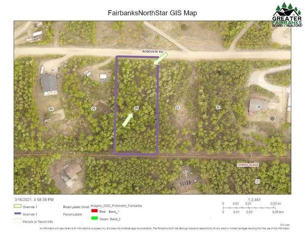 Lot 28 Wideview Road, Fairbanks, AK 99712 (MLS #146423) :: RE/MAX Associates of Fairbanks