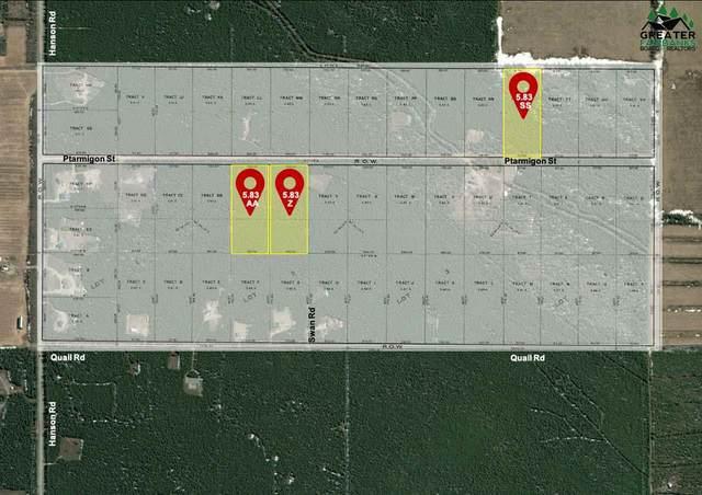 L-Z Ptarmigan Way, Delta Junction, AK 99737 (MLS #146669) :: RE/MAX Associates of Fairbanks