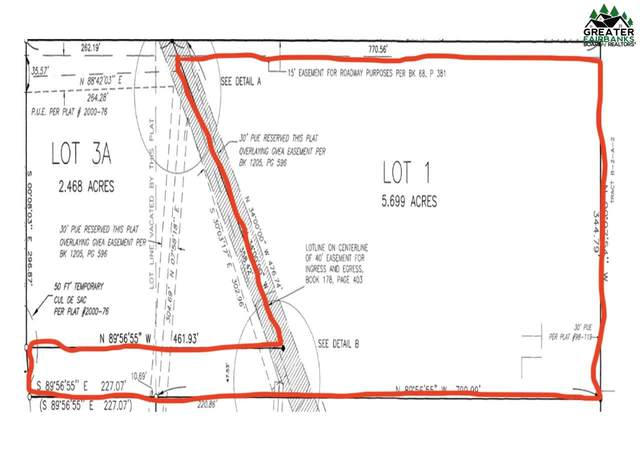 NHN Ruth Estates Road, Fairbanks, AK 99712 (MLS #146685) :: RE/MAX Associates of Fairbanks