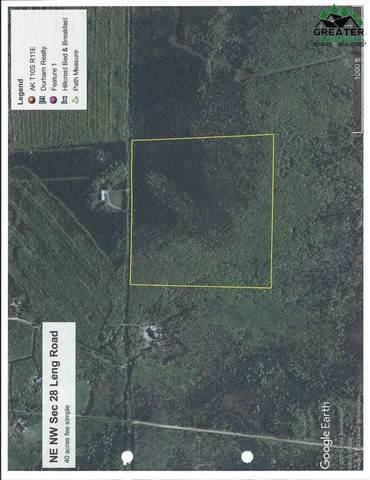 NE NW Sec 28 Leng Road, Delta Junction, AK 99737 (MLS #148318) :: RE/MAX Associates of Fairbanks