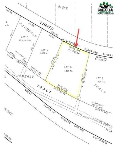 Lot 5, block 3 City Lights Boulevard, Fairbanks, AK 99712 (MLS #115756) :: RE/MAX Associates of Fairbanks