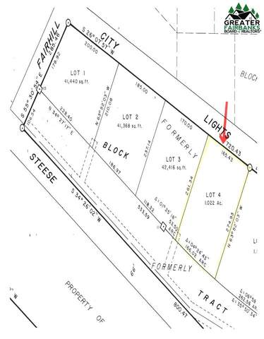 Lot 4, block 3 City Lights Boulevard, Fairbanks, AK 99712 (MLS #115759) :: RE/MAX Associates of Fairbanks