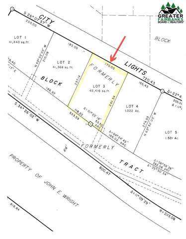 Lot 3, block 3 City Lights Boulevard, Fairbanks, AK 99712 (MLS #115764) :: Powered By Lymburner Realty