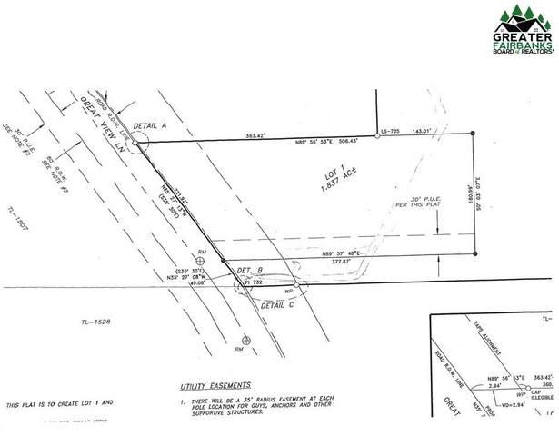 L1 Great View Lane, Fairbanks, AK 99712 (MLS #142563) :: Powered By Lymburner Realty