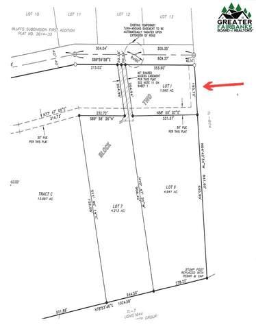 Lot 1 Block 2 Polkadot Drive, Fairbanks, AK 99712 (MLS #137368) :: Powered By Lymburner Realty