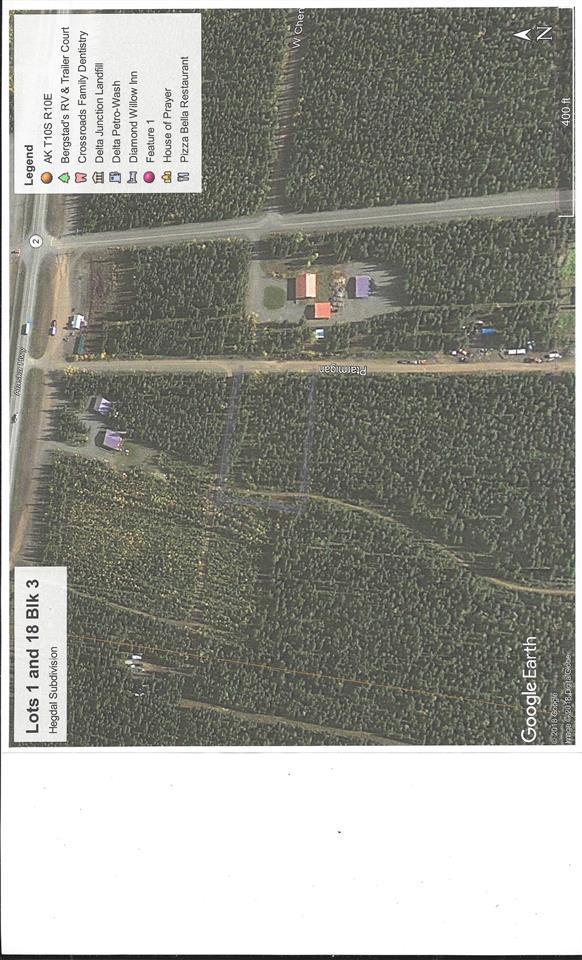 L1 & 18 Sheldon Avenue, Tok, AK 99780 (MLS #139136) :: RE/MAX Associates of Fairbanks