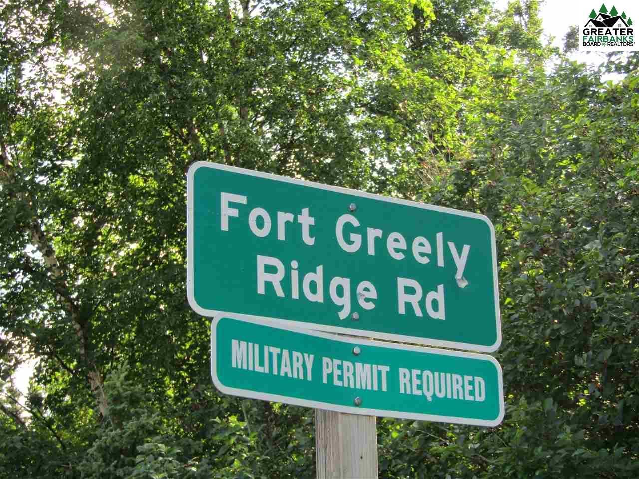 Nhn Ft Greely Ridge Road Delta Junction Ak 99737 Mls 139697