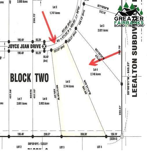 Lot 5 Block 2 Joyce Jean Drive, Fairbanks, AK 99712 (MLS #146370) :: RE/MAX Associates of Fairbanks