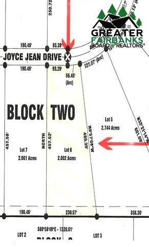 Lot 6 Block 2 Joyce Jean Drive, Fairbanks, AK 99712 (MLS #146371) :: Powered By Lymburner Realty