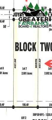 Lot 7 Block 2 Joyce Jean Drive, Fairbanks, AK 99712 (MLS #146372) :: RE/MAX Associates of Fairbanks