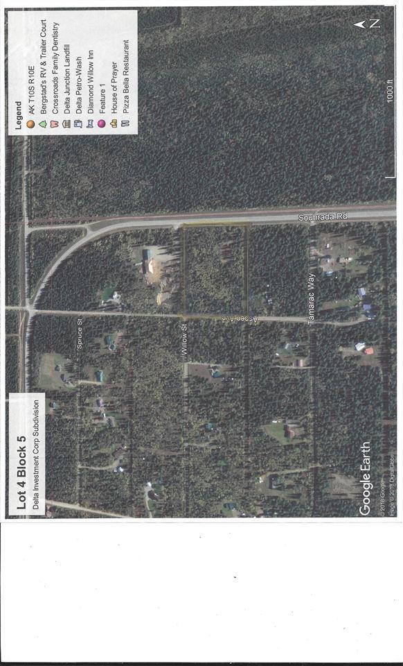 L4 B5 Jack Warren Road, Delta Junction, AK 99737 (MLS #139130) :: RE/MAX Associates of Fairbanks