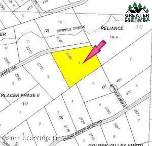 2745 Reliance Drive, Fairbanks, AK 99709 (MLS #141555) :: Madden Real Estate