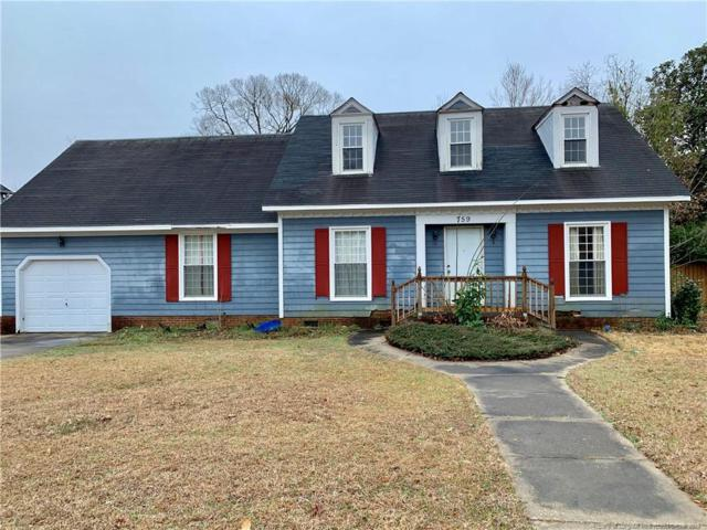 759 Ashfield Drive, Fayetteville, NC 28311 (MLS #601431) :: Weichert Realtors, On-Site Associates