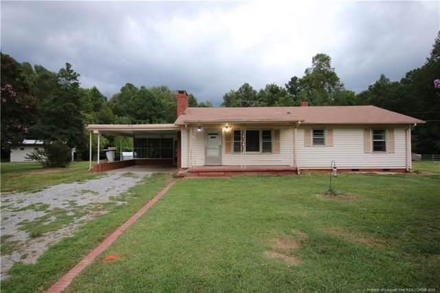 821 Old Sanford Road, Moncure, NC 27559 (MLS #616523) :: Weichert Realtors, On-Site Associates