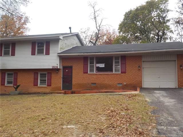 1516 Grandview Drive, Fayetteville, NC 28314 (MLS #621378) :: Weichert Realtors, On-Site Associates