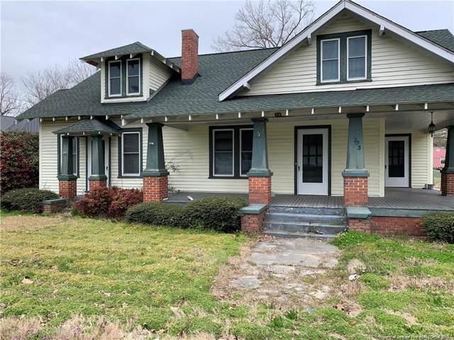 203 N Fayetteville Street N, Parkton, NC 28371 (MLS #623304) :: Weichert Realtors, On-Site Associates