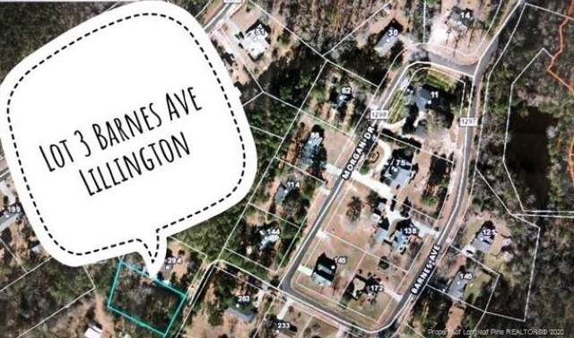 Lot 3 Barnes Avenue, Lillington, NC 27546 (MLS #624826) :: Weichert Realtors, On-Site Associates