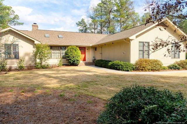 1 Highland Drive, Whispering Pines, NC 28327 (MLS #633013) :: The Signature Group Realty Team