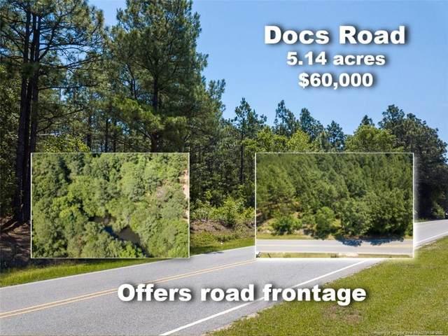 Lot 1 Docs Road, Lillington, NC 27546 (MLS #636133) :: Weichert Realtors, On-Site Associates