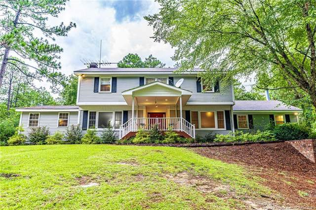 321 Santee Road, Whispering Pines, NC 28327 (MLS #638841) :: The Signature Group Realty Team