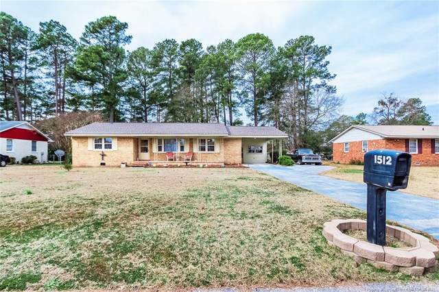1512 Atwick Drive, Fayetteville, NC 28304 (MLS #649049) :: The Signature Group Realty Team