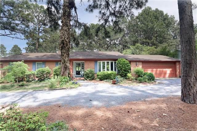 5 Par Drive, Whispering Pines, NC 28327 (MLS #656836) :: Towering Pines Real Estate