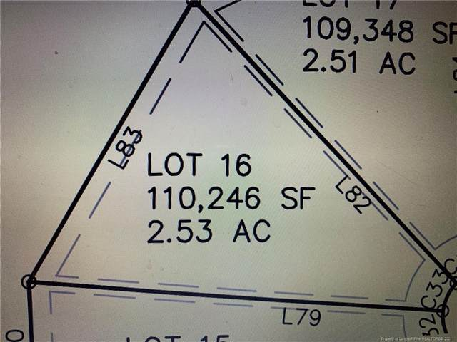 Lot 16 Rocking Horse Lane, Raeford, NC 28376 (MLS #659784) :: Freedom & Family Realty