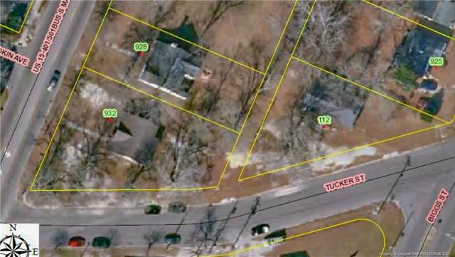 (3 lots) S. Main & Tucker Street, Laurinburg, NC 28352 (MLS #661712) :: The Signature Group Realty Team