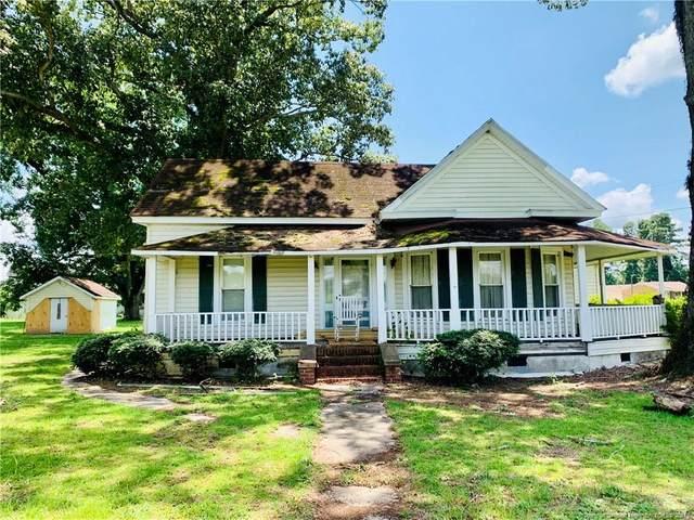 1745 Leggett Road, Fairmont, NC 28340 (MLS #663302) :: Moving Forward Real Estate
