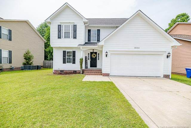 1604 Stonewood Drive, Fayetteville, NC 28306 (MLS #663388) :: The Signature Group Realty Team