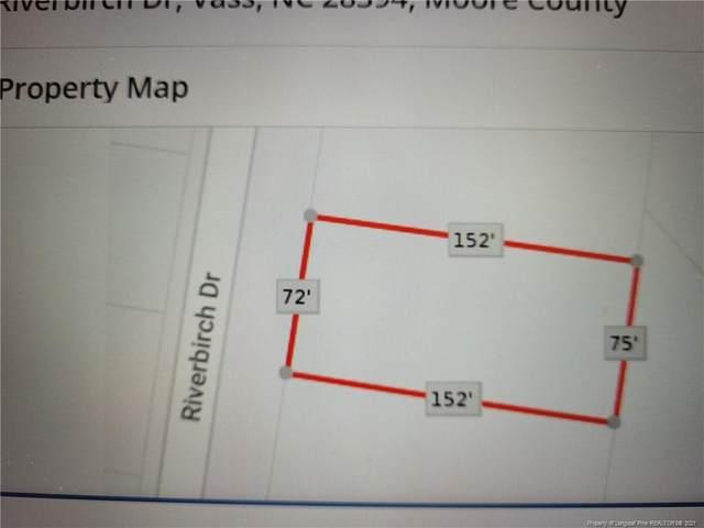 769 Riverbirch Drive, Vass, NC 28394 (MLS #665098) :: RE/MAX Southern Properties